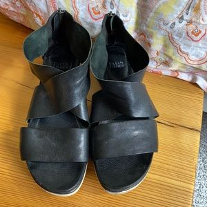 Eileen Fisher • Sport Platform Sandal